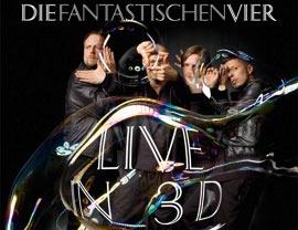 Die fantastischen Vier live in 3D – das Konzert auf 3D Blu-ray