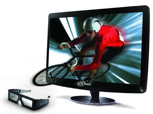 Acer HS244HQ 3D 120 Hz FullHD Monitor HDMI 1.4 LED Backlight