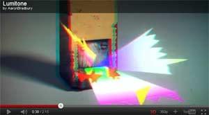Lumitone ein kurzes animiertes 3D Video in stereoskopischem 3D