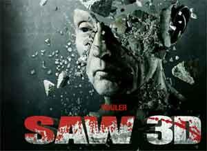 SAW 3D kämpft sicht an die Spitze der US Kinocharts
