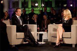 """Sky 3D – erste 3D Talkshow – """"Sky Lounge 3D"""" mit Kiefer Sutherland"""