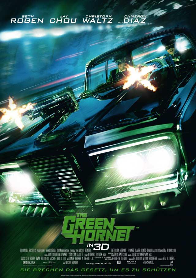 The Green Hornet 3D Film - Filmplakat